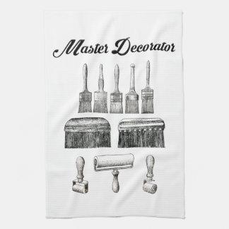 Vintages Maler-u. Dekorateur-Küchen-Tuch Handtücher
