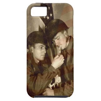 Vintages MilitärFoto starker iPhone 5C Fall iPhone 5 Case