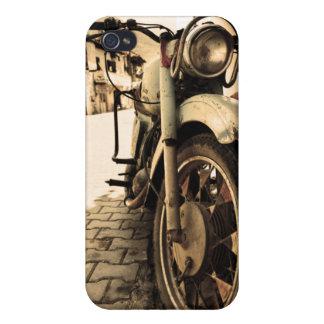 Vintages Motorrad Etui Fürs iPhone 4