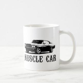 Vintages Muskelauto Tasse