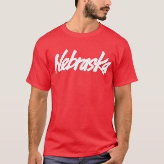 Vintages Nebraska-Logo-T-Stück T-Shirt