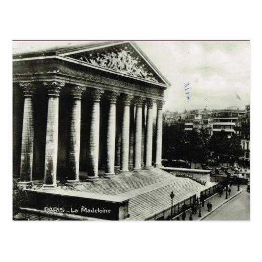 Vintages Paris, Paris, La Madeleine Postkarte