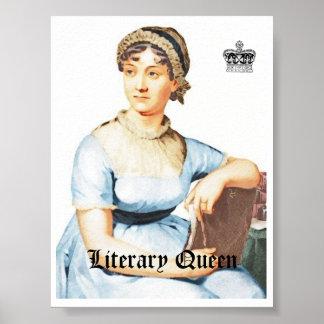 Vintages Plakat Art-Janes Austen