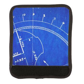 Vintages Plan-Diagramm-Nr. 327 Gepäck Markierung