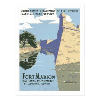 Vintages Reise-Plakat, Florida Postkarte
