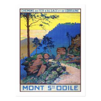 Vintages Reise-Plakat, Frankreich Postkarten