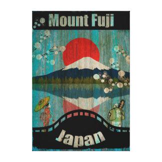 Vintages Reise-Plakat - Japan Galerie Faltleinwand