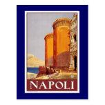 """Vintages Reise-Plakat """"Neapels"""" Postkarten"""