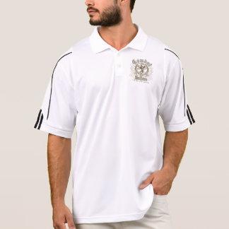 Vintages Retro Druck-Golf ClimaLite® Polo-Shirt Poloshirt