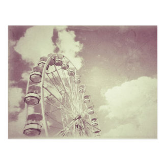 Vintages Riesenrad - Postkarte