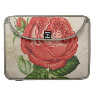Vintages rotes hybrides unaufhörliches, Rose Pauls Sleeve Für MacBooks