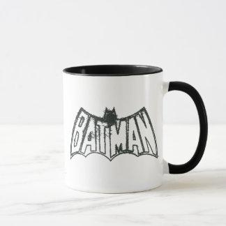 Vintages Symbol-Logo des Batman-| Tasse