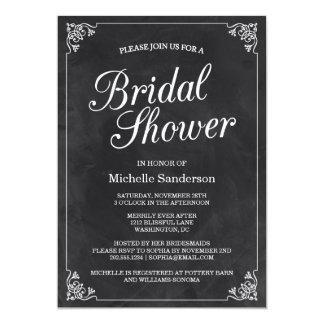 Vintages Tafel-Brautparty 12,7 X 17,8 Cm Einladungskarte