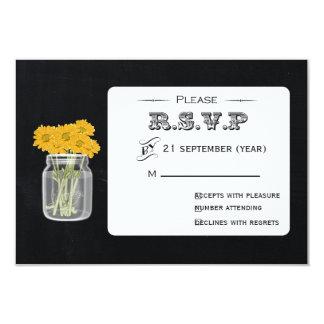 Vintages Tafel-Maurer-GlasblumenuAwg 3,5 x 5 8,9 X 12,7 Cm Einladungskarte