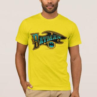 Vintages Türkis-Logo des Batman-| T-Shirt