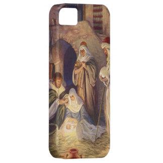 Vintages Weihnachten, drei Schäfer und Baby Jesus Schutzhülle Fürs iPhone 5