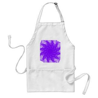 violett schürze