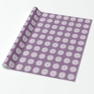 Violette asiatische Stimmungen Mandalla Geschenkpapier