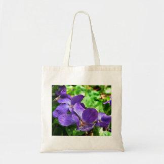 Violette Budget-Taschen-Tasche Budget Stoffbeutel