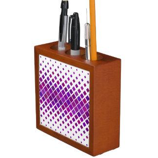 Violette Diamanten Stifthalter