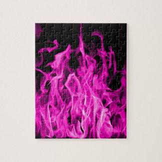 Violette Flamme und violette Feuergeschenke von St Puzzle