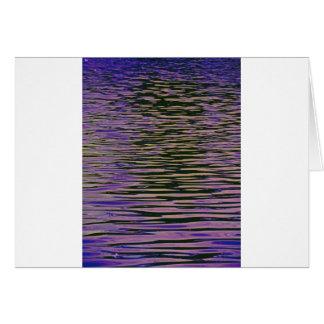 Violette Kräuselungen Karte