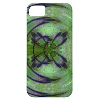 Violetter Kimono-Mond iPhone 5 Hüllen