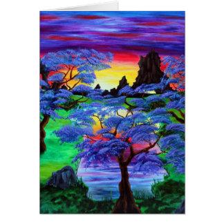 Violettes Eden Karte