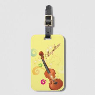 Violinen-Gepäckanhänger, Taschen-Umbau Kofferanhänger