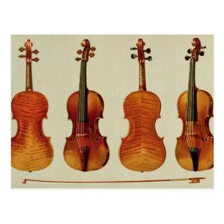 "Violinen (LtoR): das ""Alard"" durch Antonio Postkarte"