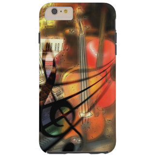 Violinen-musikalischer Kunst-Handy-Fall Tough iPhone 6 Plus Hülle