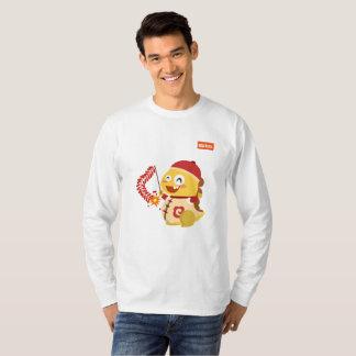 VIPKID chinesisches neues Jahr-langes Hülsen-Shirt T-Shirt