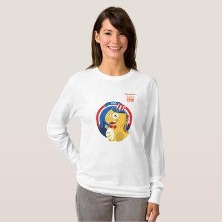 VIPKID langer Hülsen-T - Shirt für Lehrer Laura