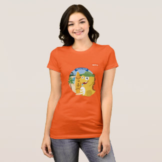 VIPKID Puerto Rico T - Shirt (orange)