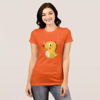 VIPKID Rosen-Dino-T - Shirt (orange)