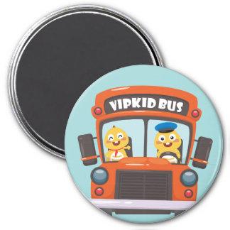 VIPKID zurück zu Schulmagneten 2 Runder Magnet 7,6 Cm