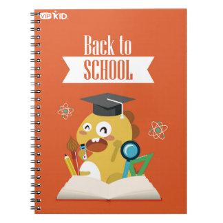 VIPKID zurück zu Schulnotizbuch 1 Notizblock