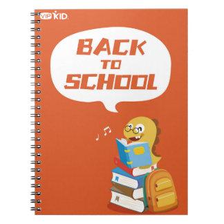 VIPKID zurück zu Schulnotizbuch 3 Notizblock