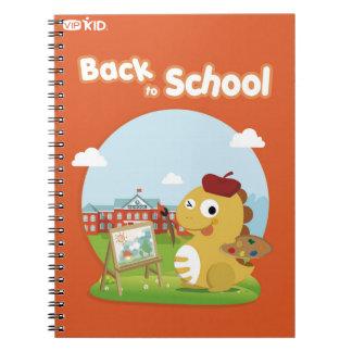 VIPKID zurück zu Schulnotizbuch 4 Notizblock