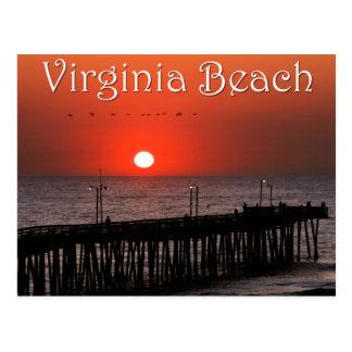 Virginia- Beachpostkarte Postkarte