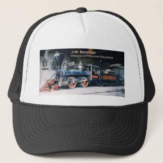Virginia und Truckee Eisenbahn-Motor Bowker Hut Truckerkappe