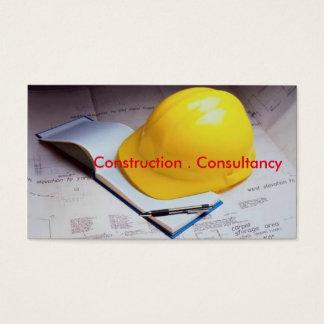 Visitenkarte für Beratung oder Bau