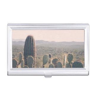 Visitenkarte-Halter Arizona-Kaktus-| Visitenkarten-Dose