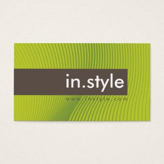 VISITENKARTE:: modischer moderner Einfluss L6 Visitenkarten