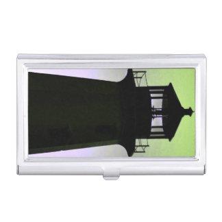 Visitenkartehalter Peggy Bucht-Leuchtturm Visitenkarten-Dosen