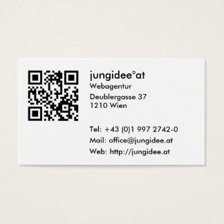 Visitenkarten mit QR-Code