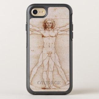Vitruvian Mann im Detail durch Leonardo da Vinci OtterBox Symmetry iPhone 8/7 Hülle
