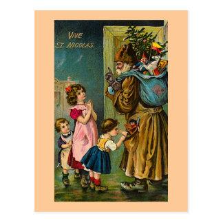 """""""Vive Vintage französische Postkarte St. Nicolas"""""""