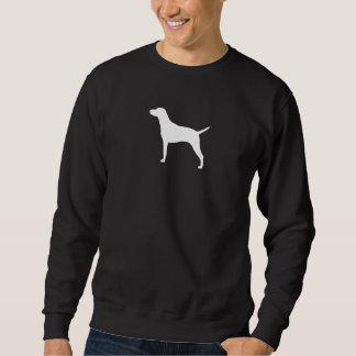 Vizsla Silhouette Sweatshirt
