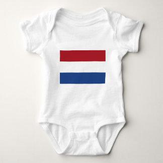 Vlag Packwagen Nederland - Flagge der Niederlande Baby Strampler